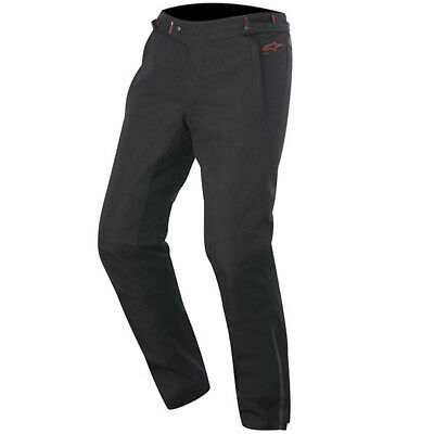Alpinestars Protean Drystar Waterproof Motorcycle Riding Pants - Black