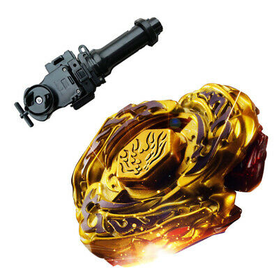 L-Drago Gold Beyblade 4D Top Metal Fusion Fight Master New + Launcher Usa Seller