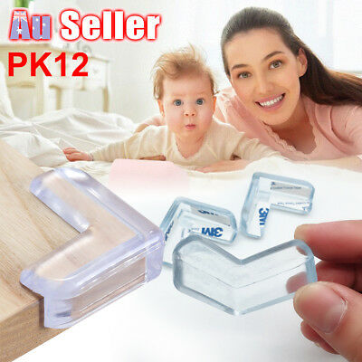 12pcs Baby Child Safety Guard Soft Protectors Desk Edge Table Corner Cushion