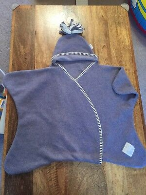 Tuppence And Crumble Star Wrap Snugstar Small 0-4 Months Lavender RRP £21.95
