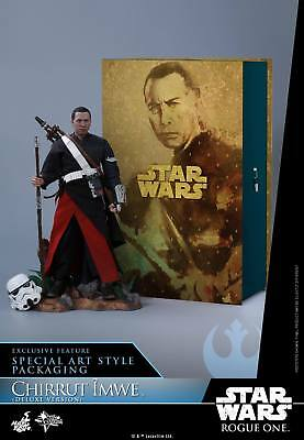 (Us) Hot Toys 1/6 Rogue One A Star Wars Story Mms403 Chirrut Imwe Deluxe Ver