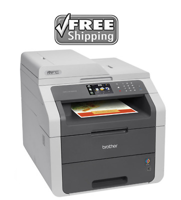 NEW Brother MFC9130CW Wireless Color Print, Scan, Copy, Fax Laser Printer