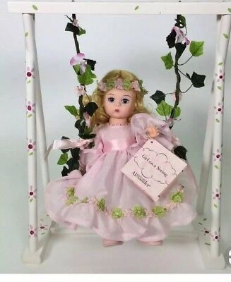 Vintage MADAME ALEXANDER Girl On A Swing 28640 Doll MIB