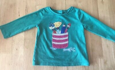 GREEN TOP by NEXT - Age 6-9 Months