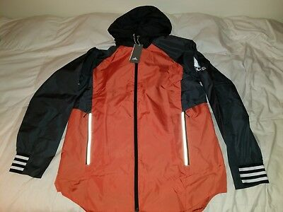 adidas Men's ID Jacket Small Raw Amber / Carbon MSRP $85