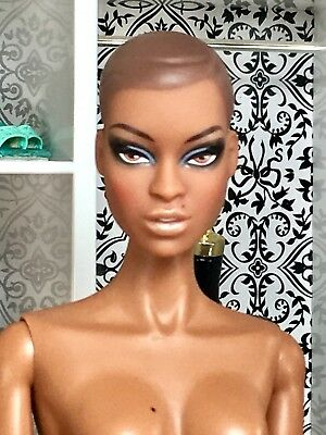 "NUDE Adele Makeda Urban Antoinette Modern Pompadour 12"" DOLL Fashion Royalty"