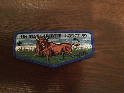 OA Uh-To-Yeh-Hut-Tee Lodge 89 S2 Misspelled Flap Timuquan Seminole