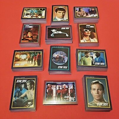 Star Trek The Next Generation Lot of 550+ Paramount Pictures Impel Trading Cards