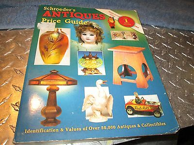 Book Schroeders Antiques Price Guide 22nd Edition 2004