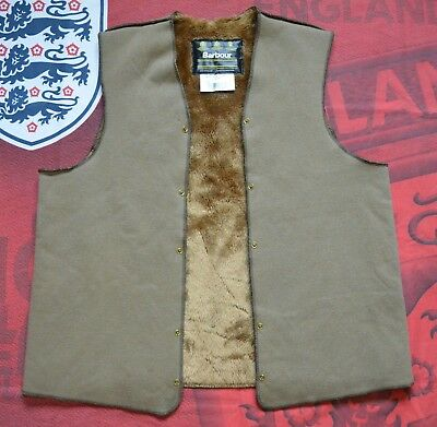 Barbour Warm Lining A297 , for wax jackets , made in England