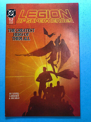 Legion of Super-Heroes 38 DC 9/87 Death of Superboy A4