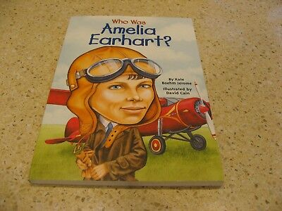 Who Was: Amelia Earhart? by Kate Boehm Jerome (Paperback, 2002)