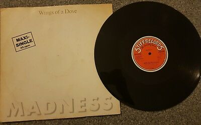 Madness -Wings of a Dove LP Vinyl SKA Oi Punk Skinhead Bad Manners The Specials