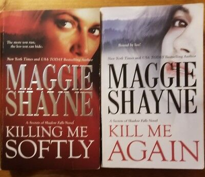 Maggie Shayne Lot Of 4 Books 3 Are Secrets Of Shadow Falls Blue