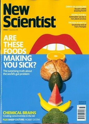 NEW SCIENTIST MAGAZINE 15th SEPT 2018 SPECIAL OFFER BUY ANY 6 ISSUES FOR £10.00