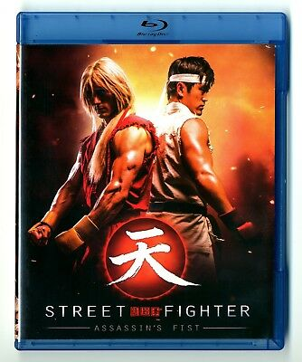 Blu-Ray Disc + Dvd / Street Fighter Assassin's Fist / Comme Neuf