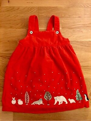Beautiful Baby Boden Christmas Dress 2-3
