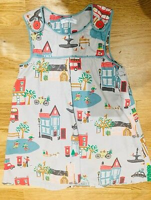 Baby Boden Christmas Dress 2-3
