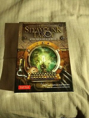 Steampunk Tarot / Wisdom from Gods of the Machine [With Cards] / NEW / John Mat