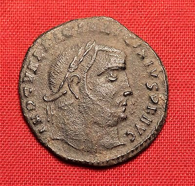 Ancient Roman Bronze AE Follis Coin, Licinius - Desert Patina!