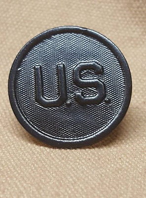 WWI US Collar Disk, U.S. variation