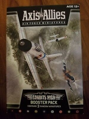 Axis & Allies Air Force Miniatures Bandits High Booster Pack (3 Miniatures) New