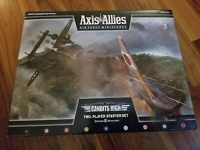 Axis & Allies Air Force Miniatures Bandits High Two-Player Starter Kit New