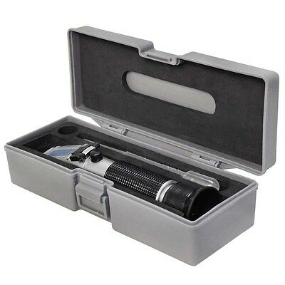 RHB-32 ATC Brix scale 0-32% Percent Hand Held Brix Refractometer for Wine Juice