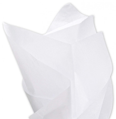 """Acid-Free White Tissue Paper 15 x 20"""", Pack of 100 Sheets …"""