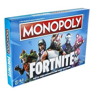 Hasbro Monopoly: Fortnite Edition Board Game Inspired by Fortnite Video Game
