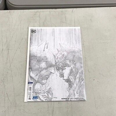 BATMAN 50 1:100 JIM LEE PENCIL VARIANT WEDDING? Tom King Janin DC Comics Batman