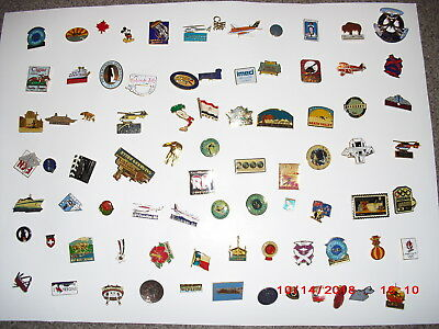 LAPEL PIN LOT Estate  Assorted Hat / Tie / Tack / Lapel / Pins Vintage Modern 81