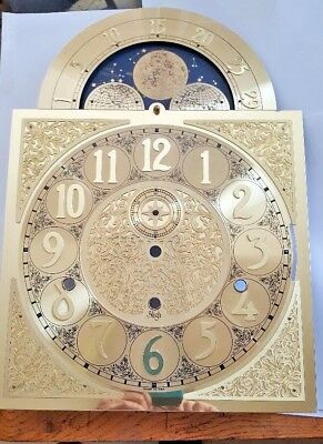 Sligh Grandfather clock dial for Large Urgos movement size 280 x 280 x395