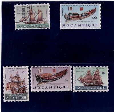 1974 - MOZAMBIQUE -  5 Values, Stamps NH