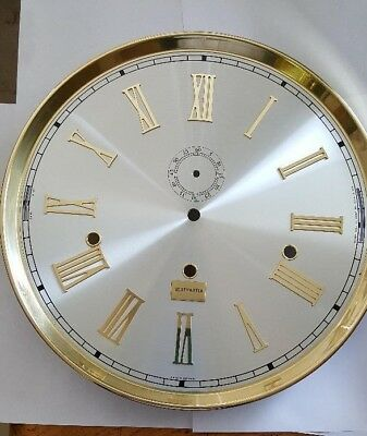 Hermle-Westminster dial for Grandfather clock movement 1171- 300mm diameter,roun