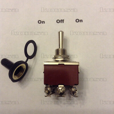 30 amp  3 Position switch On - Off - On Toggle  #7075-TSO
