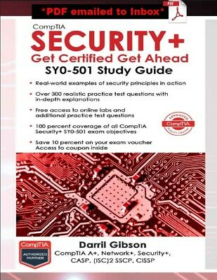 Comptia Security+ Get Certified Get Ahead: SY0-501 Study Guide - DIGITAL EDITION