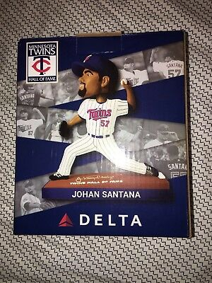 2018 Minnesota Twins HOF Johan Santana Bobble Head
