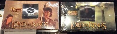 Lord The Rings Action Flipz Fellowship And Two Towers (2 boxes total) Sealed