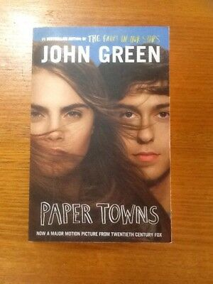 Paper Towns [Film Tie-in Edition] by John Green. Good Condition.