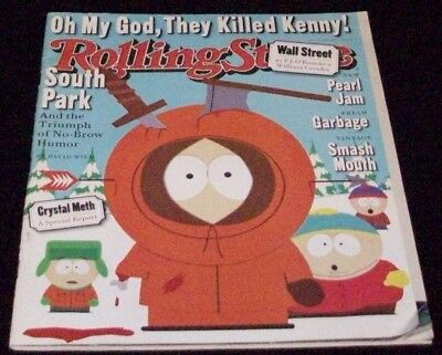 Rolling Stone Magazine-1998-South Park-Drugs-Wall Street-Smash Mouth-Pearl Jam