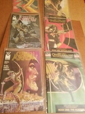 dc green arrow 3 longbow hunters / 3 green arrow new format comics mike grell