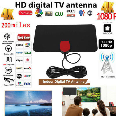 200Mile Range Antenna TV Digital HD Skylink 4K Antena LAN-1071 ATSC/DVB-T2 1080P