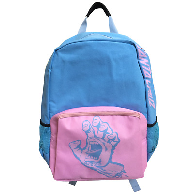 Santa Cruz Screaming Hand Backpack Pink/Blue