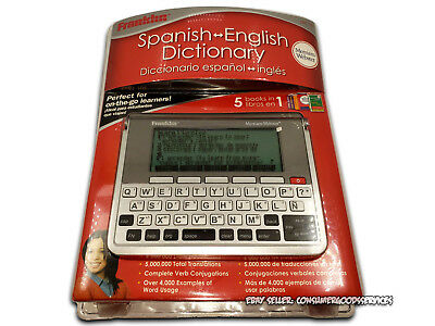 Franklin DBE-1490 Merriam-Webster Spanish English Electronic Dictionary