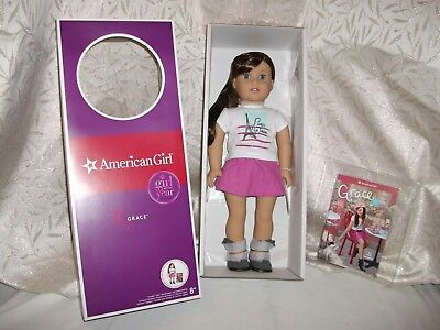 American Girl Grace Doll+ Access. + 6 Outfits + Video Nib Free Ship With  Bin