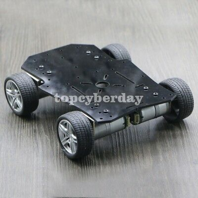 4WD Smart RC Car Chassis with Motors Encoder Max-Load 2.5kg For Arduino Platform