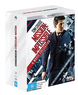 Mission Impossible | 6 Movie Franchise (Blu-Ray, 2018) (Region B) New Release