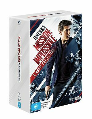 Mission Impossible | 6 Movie Franchise (DVD, 2018) (Region 4) New Release