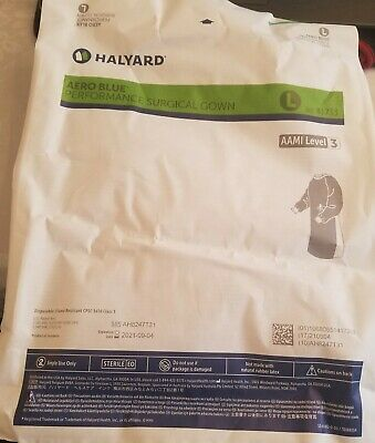 HALYARD XL ULTRA SURGICAL GOWN W/FABRIC&TOWEL AAMI LEVEL 3  95121 1each  no-tax